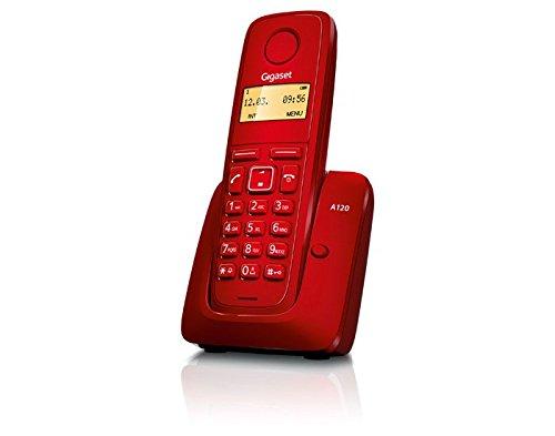 Siemens - S30852H2401K104 - GIGASET A120 RED