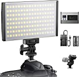 ESDDI LED Camera Video Light, 144 LED BI-Color...