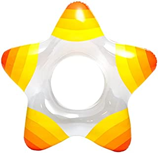 Intex Inflatable Star Shape Swim Rings, 1 Pack (Colors May Vary), for Ages 3-6