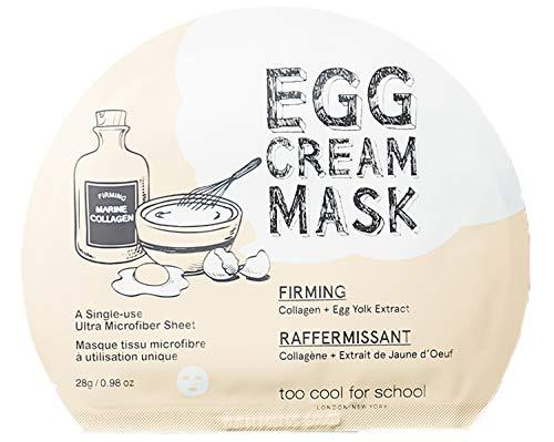 Too Cool for School Crème aux Œufs Masque Raffermissant