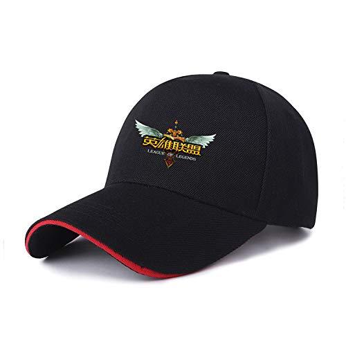 sdssup Visier Studentenkappe 1 Hutfarbe auf schwarz rot 1 verstellbar