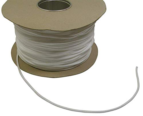 50 Metres White 6mm Washable Piping Cord