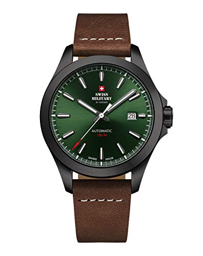 Swiss Military SMA34077.10 automatic 42mm 10ATM
