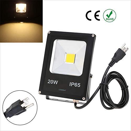 Taidallo LED Real Power 20W IP65 waterdichte LED-schijnwerper lamp met Amerikaanse stekker 85-265V voor tuin buitenverlichting