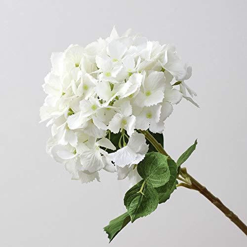 WOHCO Flores Artificiales, hortensias Flores Flores 17 racimos Cada Ramo [6 Piezas en Total], Ilumina tu hogar, Cocina, jardín, Interior, Exterior, decoración