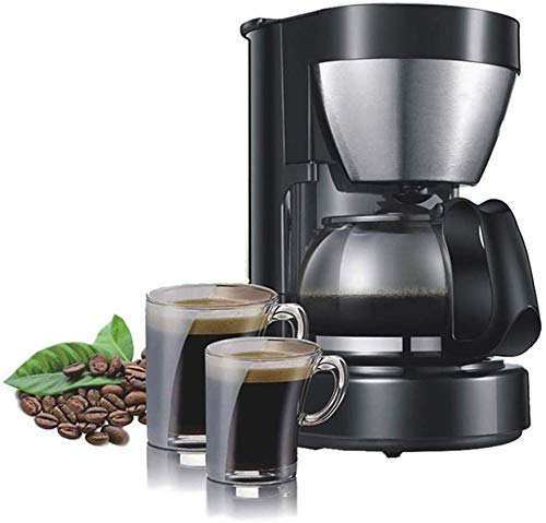 GNLIAN HUAHUA Coffee Machine 0.65L Electric Drip Coffee Maker Household Coffee Machine 6 Cup Tea Coffee Pot 220V
