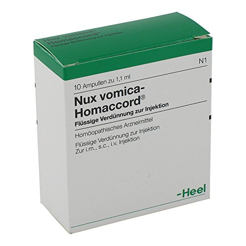 Nux vomica-Homaccord Ampullen