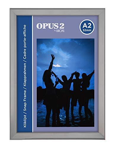 OPUS 2 - Marco de Aluminio A2 con sistema Easy-Click, 32 mm, 355015