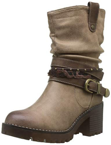 MTNG Collection 58666, Botines para Mujer, Beige (Karma Taupe C28595), 39 EU