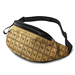"""▶Large Capacity -This fashion fanny pack is 5.5"""" x 13.7""""(14 x 35cm). perfect for most people who want to be hands free to carry the most needed items,include all size of phone, passport, keys,ID and other small items.Perfect for various activities su..."""
