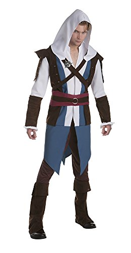 PALAMON Assassins Creed Edward Kenway Mens Fancy Dress Costume Large