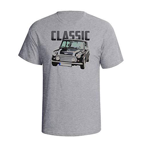 Fuelly Threads Mini Classic - Mens Organic Cotton Retro Car T-Shirt G