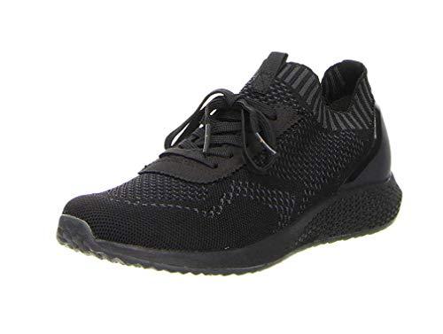 Tamaris 237-00-90132 - Zapatillas para Mujer Black/Rose Met, Color Negro, Talla 42 EU