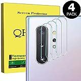 QHOHQ [4-Pack Protector de Pantalla de cámara para Samsung Galaxy Note 10/Note 10 Plus,[Alta Definición][No Burbujas][Fácil de Instalar]