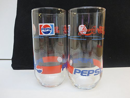 Pepsi 1898 to 1987 Glass Set