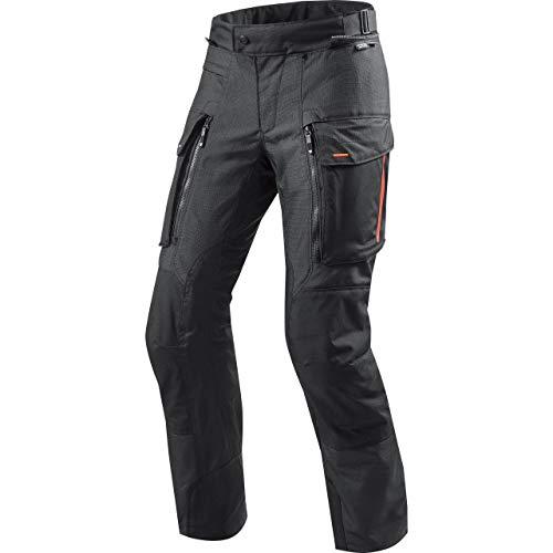 REV'IT! Motorradhose Sand 3 Textilhose schwarz L, Herren, Enduro/Reiseenduro, Ganzjährig