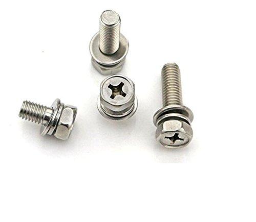 Dresselhaus tire-fonds collet carr/é sans ecrou a2 m8 x 50 mm-lot de 20