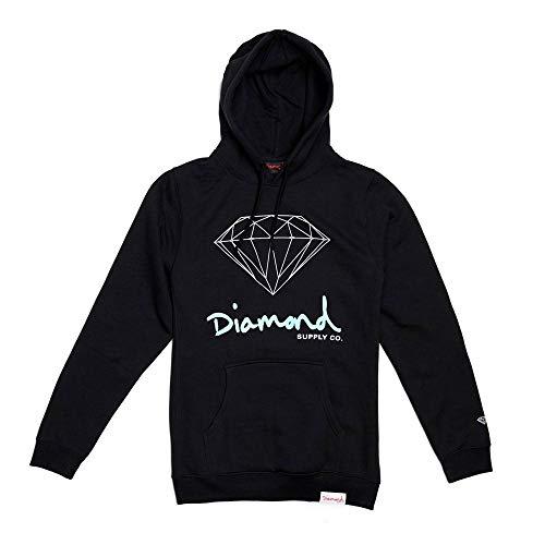 Diamond Supply Co OG Sign Core Hoodie Black