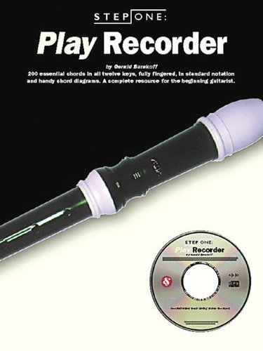 [[Step One: Play Recorder (Step One Teach Yourself)]] [By: Burakoff, Gerald] [April, 1998]