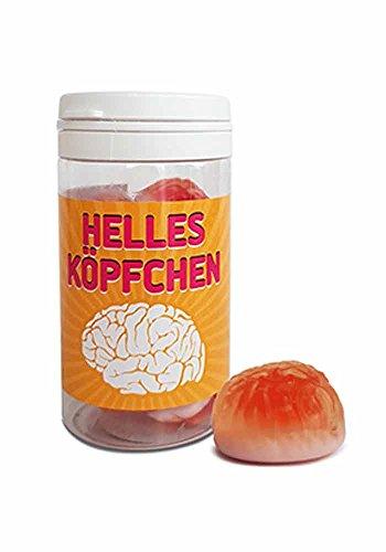 Mr.Giggelz Helles Köpfchen - Fruchtgummi-Hirne
