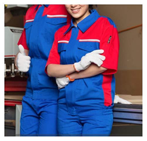 Fgolphd Ropa de Trabajo Hombres Mujeres Trabajo Chaqueta Taller Coche Condición de...