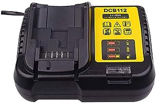 Sponsored Ad – Replacement 3A DCB112 Charger Compatible for Dewalt 10.8V 14.4V 18V 20V Li-Ion DCB120 DCB127 DCB206 DCB205 ...