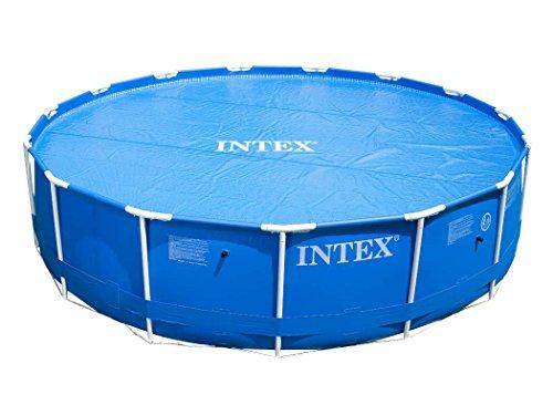 Intex Cubierta solar de piscina para Easy Set y Frame Pool Ø5,49...