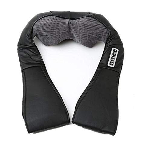 TYXL neck massager Masaje en los hombros 3D Volver Massager del cuello con función de vibración de calor for la tensión muscular alivio del dolor mejor regalo for los conductores de los trabajadores f