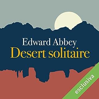 Desert solitaire cover art