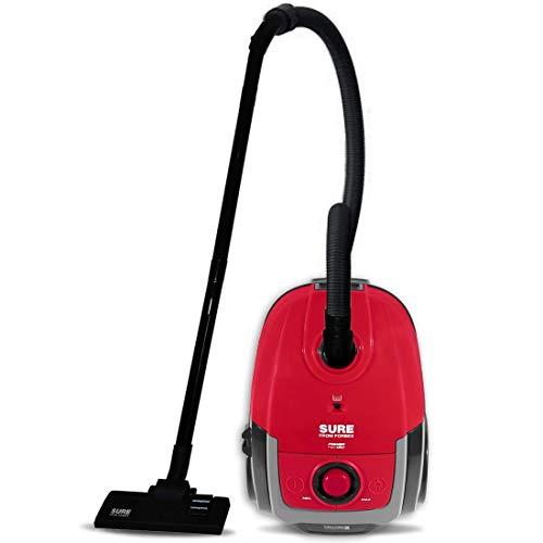 Eureka Forbes Power Vac Vacuum Cleaner, 1400 Watts with Vario Power (Red & Black)
