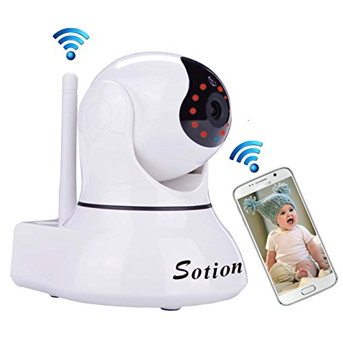 SOTION Full HD Wide Viewing Angle Internet WiFi...