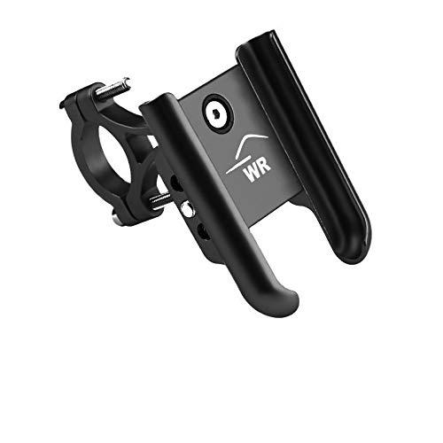 Suporte de Celular em Alumínio para Moto com Rotação 360º