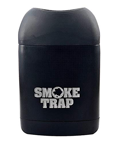 Smoke Trap 2.0 - Personal Air Filter (Sploof) - Smoke Filter With Replaceable Cartridges - 300+ Uses (Black)