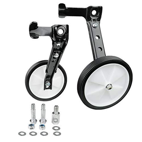 freneci Stützräder für Kinder-Fahrräder von 16 18 20 22 24 Zoll - Silber