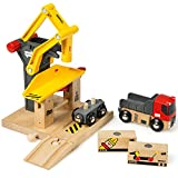 BRIO World - 33280 Freight Goods Station | Toy Train Accessories for Kids Age 3 and Up