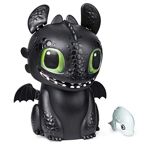 Hatching Toothless is a cute electronic pet for kids