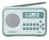 Roberts Radio Play Digital Radio with DAB/DAB+/FM RDS and Built-In Battery Charger
