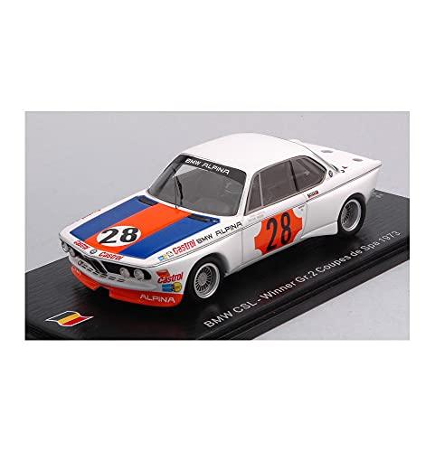 per BMW CSL N.28 WINNER GR.2 COUPE DE SPA 1973 NIKI LAUDA 1:43 - Spark Model - Auto Competizione - Die Cast - Modellino