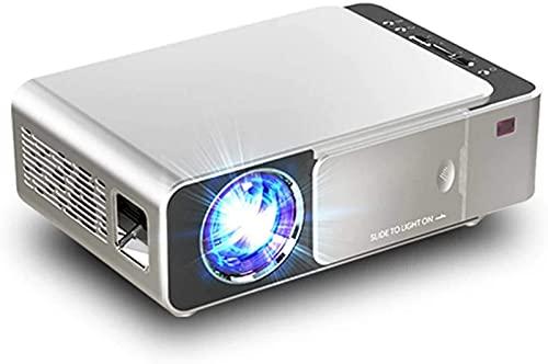 Mini proyector, LED portátil Full HD Multimedia Home Theater Video Proyector 1080P Soporte para Home Cinema, Películas, Juegos, TV, Laptop, Smartphone