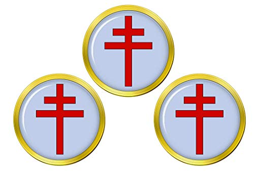 Giftshop UK Patriarch Cross Golfball Markierer