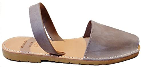 Avarcas Menorqu/ínas Abarcas Authentic Menorcan Sandals Color Fucsia Nobuck Albarcas.
