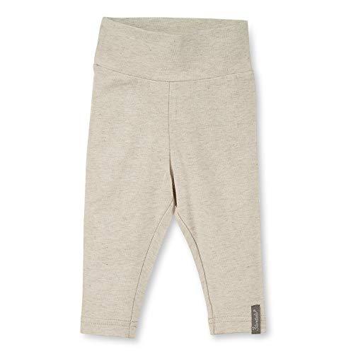 Sterntaler leggings voor meisjes met schattig beer-motief, leeftijd: 9-12 maanden, maat: 80, beige, 5701920