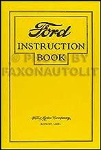 1926 Ford Model T Car & Truck Owner's Manual Reprint