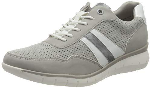 Tamaris Damen 1-1-23762-26 Sneaker, Sneaker, grey comb, 37 EU