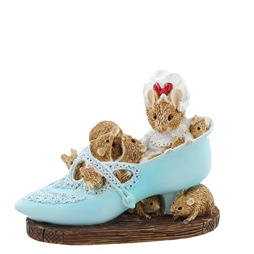 Beatrix Potter Old Woman Who Lived In A Shoe Figurine, Resin, Mehrfarbig, 3 x 9 x 7 cm