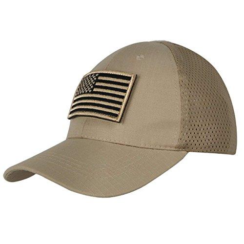 Shidan FM8 Herren Mesh Taktische Kappe Sport Baseball Militär Tarnung Sonne Hüte Kappe mit USA Flagge Patch/Wörter Patch