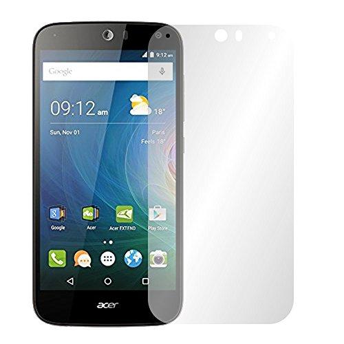 Slabo 4 x Bildschirmschutzfolie für Acer Liquid Z630 / Z630S Dual-SIM Bildschirmfolie Schutzfolie Folie Zubehör Crystal Clear KLAR