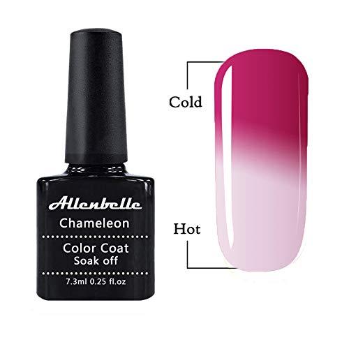 Allenbelle Esmaltes Permanentes Para Uñas Nail Art Soak Off UV LED Esmalte Permanente de gel 5771