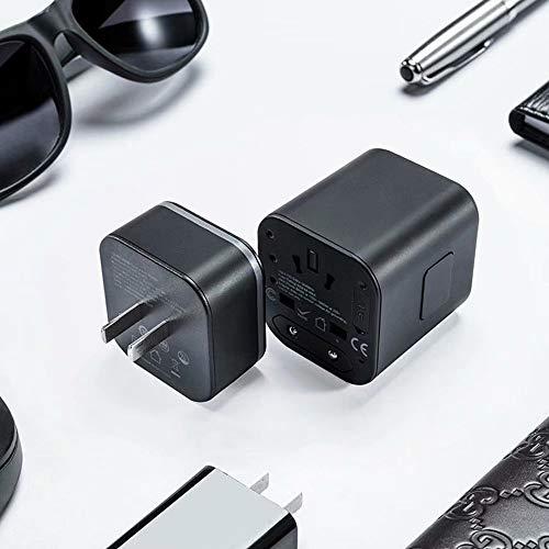 WH- 2-in-1-Multifunktions-Adapterstecker, tragbares, abnehmbares Design - einfach an Verschiedene Länder und Regionen anpassbar