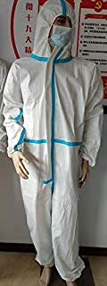 ZK Medical Overoles de Protección Desechables Médicos, No Esteriles, Tamaño XL, 175 cm (Paquete de 40 Piezas)